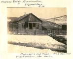 Engineer's Log House, Moreno Valley Examination, Elizabethtown, New Mexico