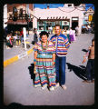 Artist Pansy Stockton and husband at Fiesta, Santa Fe, New Mexico