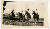 Group on horseback, New Mexico
