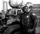 """American South"" series, Fireman, Charleston, South Carolina"