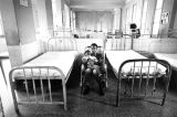 Father and child, pediatric hospital, Havana, Cuba