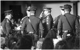 "State Police officers honoring officer Glen Huber, shot in ""Chimayo Massacre"" which left..."