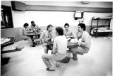 Prisoners at Santa Fe County Detention Center, Santa Fe, New Mexico