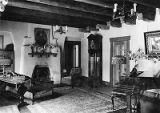 Interior of Leonard T. Smith residence at 334 Garcia Street, Santa Fe, New Mexico