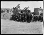 Unidentified ceremony, Laguna Pueblo, New Mexico