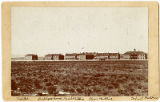 Boys and girls dormitories, employee housing and hospital at the United States Indian Industrial...