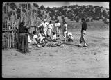 Baseball team, Tesuque Pueblo, New Mexico