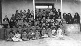 Students at Loretto Indian School, Bernalillo, New Mexico