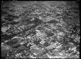Aerial view of Santa Fe, New Mexico