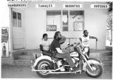 Members of the Chimayo Valley Cruisers from left; Benny Vigil, Leroy Leyba and president Dennis...