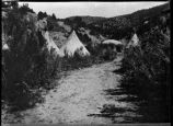 Apache village, Ruidoso, New Mexico