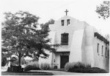 First Presbyterian Church on Grant Street, Santa Fe, New Mexico