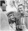 Charlton Heston with fans at Santa Fe Film Festival, Santa Fe, New Mexico