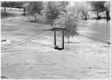 Flooding on the Rio Grande at Embudo, New Mexico