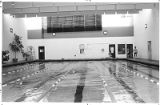 New swimming pool at Fort Marcy recreation complex, Santa Fe, New Mexico