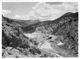 View of Soda Dam near Jemez Springs, New Mexico