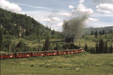 Cumbres and Toltec Railroad between Chama, New Mexico and Antonito, Colorado