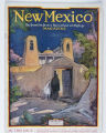 March cover, Santuario de Chimayo, New Mexico Magazine