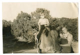Cousins Sonny (Oliver Wright Jr.) and Junie Robbins (Bonnie O'Rork Steinberg), Seton Village, New...