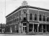 The White House dry goods store, Catron Building on Plaza, Santa Fe, New Mexico