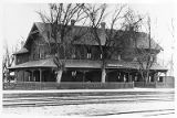 Railroad depot, San Marcial, New Mexico