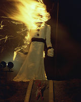 Burning of Zozobra during Fiesta, Santa Fe, New Mexico