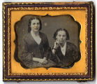Portrait of two young women