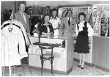 Owners Abe and Marian Silver on right with staff at The Guarantee on the Plaza, Santa Fe, New...