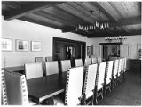 Meeting room in the Governor's Mansion, Santa Fe, New Mexico