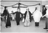 The annual Halloween costume dance at Senior Citizens Center on Alto Street, Santa Fe, New Mexico