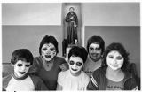 Eight graders made up for Halloweeen, Santa Fe, New Mexico