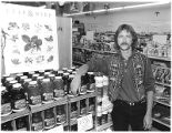 Dimid Hayes in his health food store Vitality Unlimited, Santa Fe, New Mexico