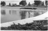 Children keep cool during summer in Los Alamos, New Mexico
