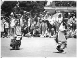 Santa Clara Butterfly Dancers at San Ildefonso Pueblo, New Mexico