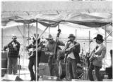 Bluegrass band, with Claude Stephenson on mandolin, entertains at the Penitentiary of New Mexico