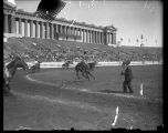 Bucking horse, Soldier Field, Chicago, Illinois