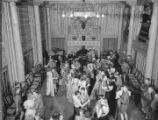 Dance at Fuller lodge, Los Alamos Ranch School, Los Alamos, New Mexico
