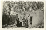 Mrs. Smith, Mrs. Boyle, Mrs. Cross-Rivenberg, and Mrs. Coffin at Mrs. Boyle's residence, Santa Fe,...