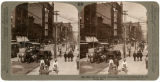 Street scene, Broadway north from Chestnut Street, Saint Louis, Missouri