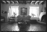 Interior of Randall Davey House, Santa Fe, New Mexico
