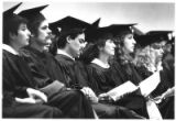 Graduates from Santa Fe Community College attend graduation ceremony in James A. Little...