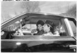 Arthur and Joan Medina in their lowrider, Espanola, New Mexico