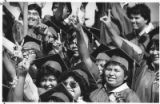 Graduation at Santa Fe Indian School, New Mexico