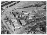 Aerial view of St. Catherine's Indian School, Santa Fe, New Mexico