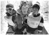 Junior skiers enrolled in the Santa Fe Ski School, Santa Fe, New Mexico