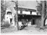 Exterior of Nicolai Fechin house in Taos, New Mexico
