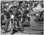Riders in the Toys for Tots drive, Santa Fe, New Mexico