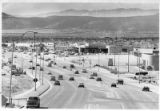 Traffic on St. Michael's Drive looking west, Santa Fe, New Mexico