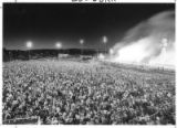 Large crowd in front of Zozobra, Santa Fe, New Mexico