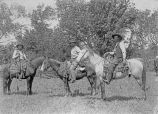 Henry Williams and his friends, Texas